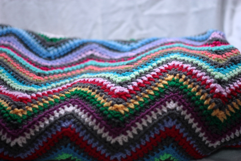 Ripple Crochet afghan pattern Archives - Chocolate Dog Studio