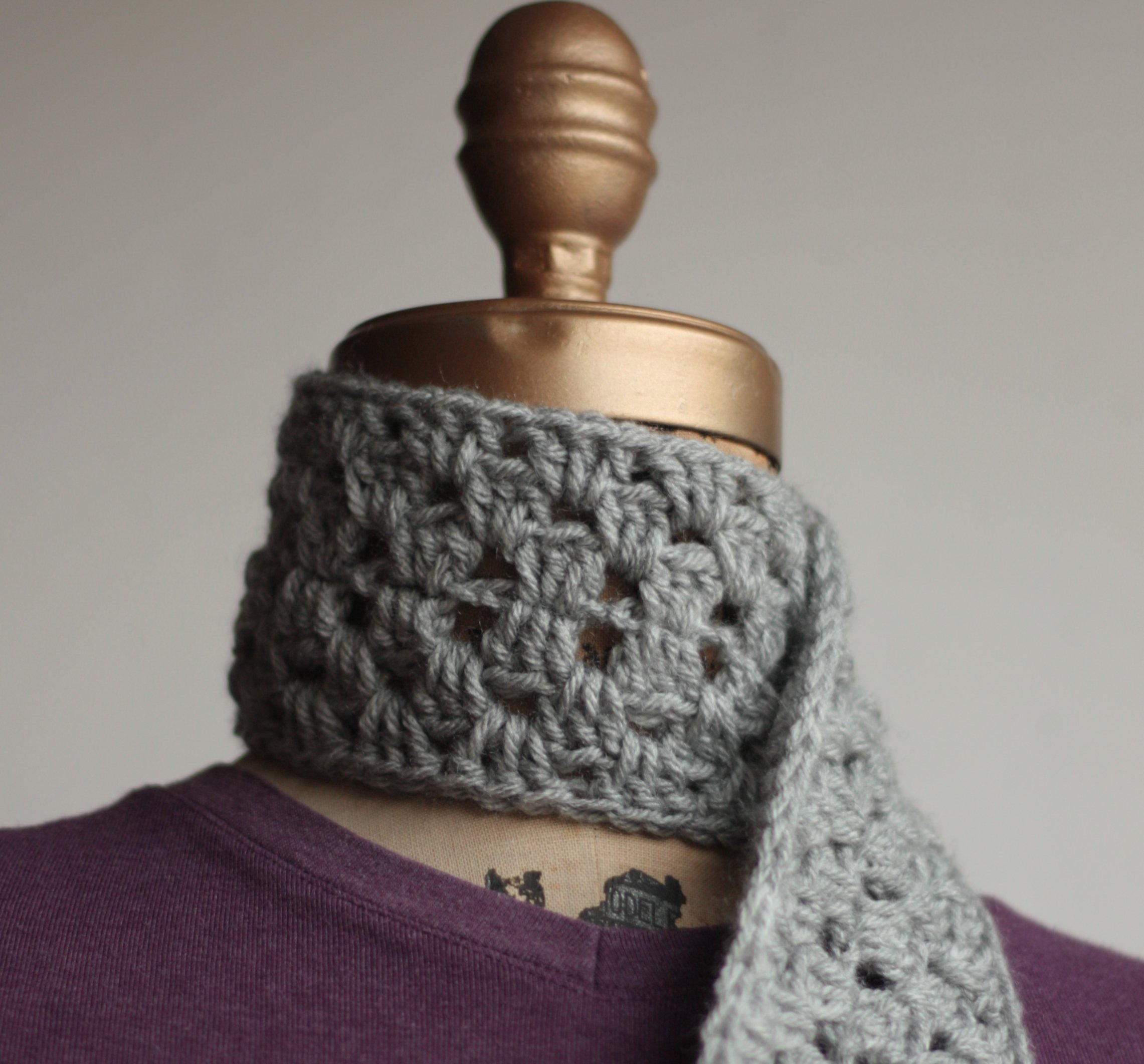 Crochet scarf pattern Archives - Chocolate Dog Studio