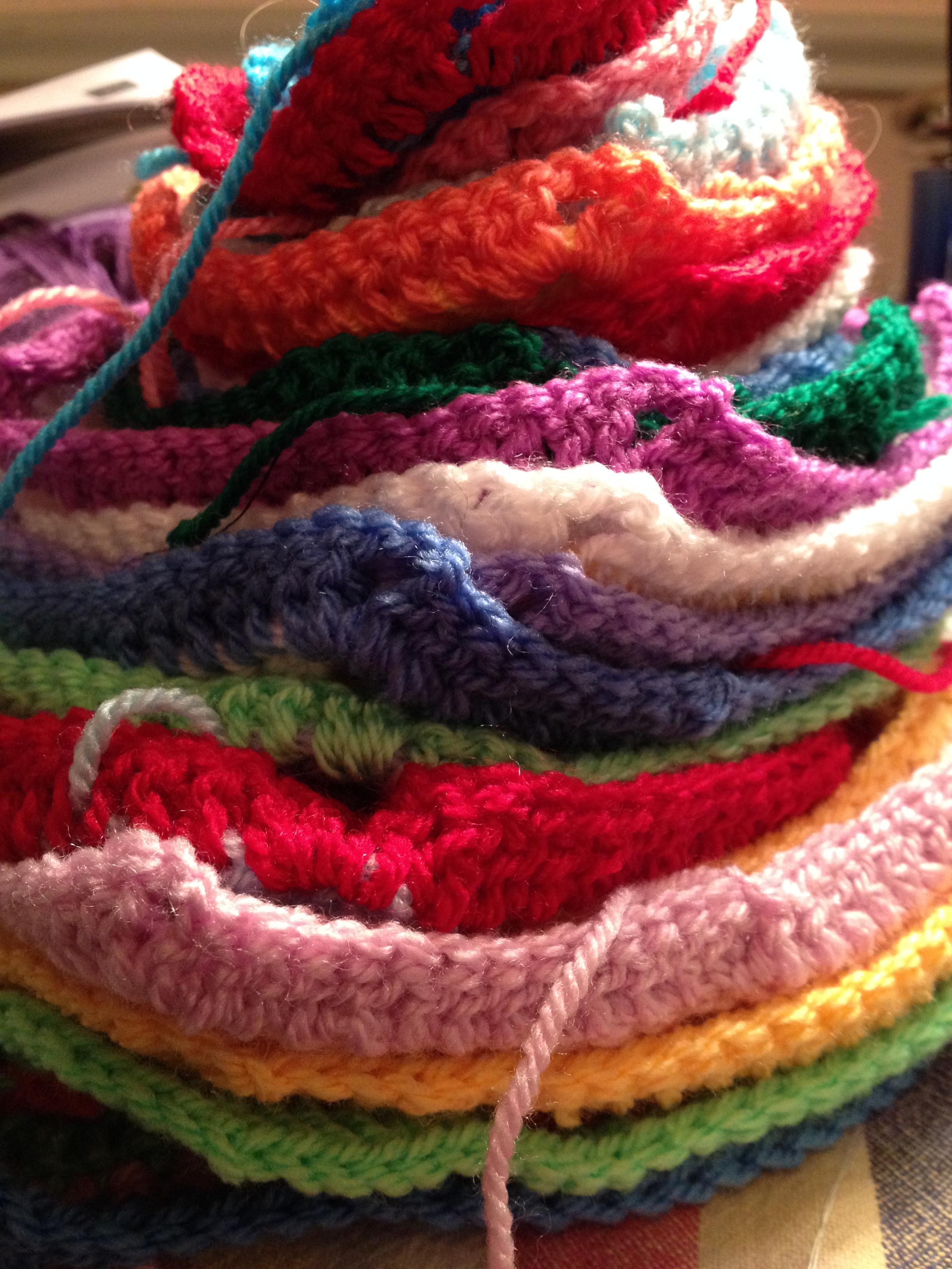 Ta dah! Granny Square Blanket