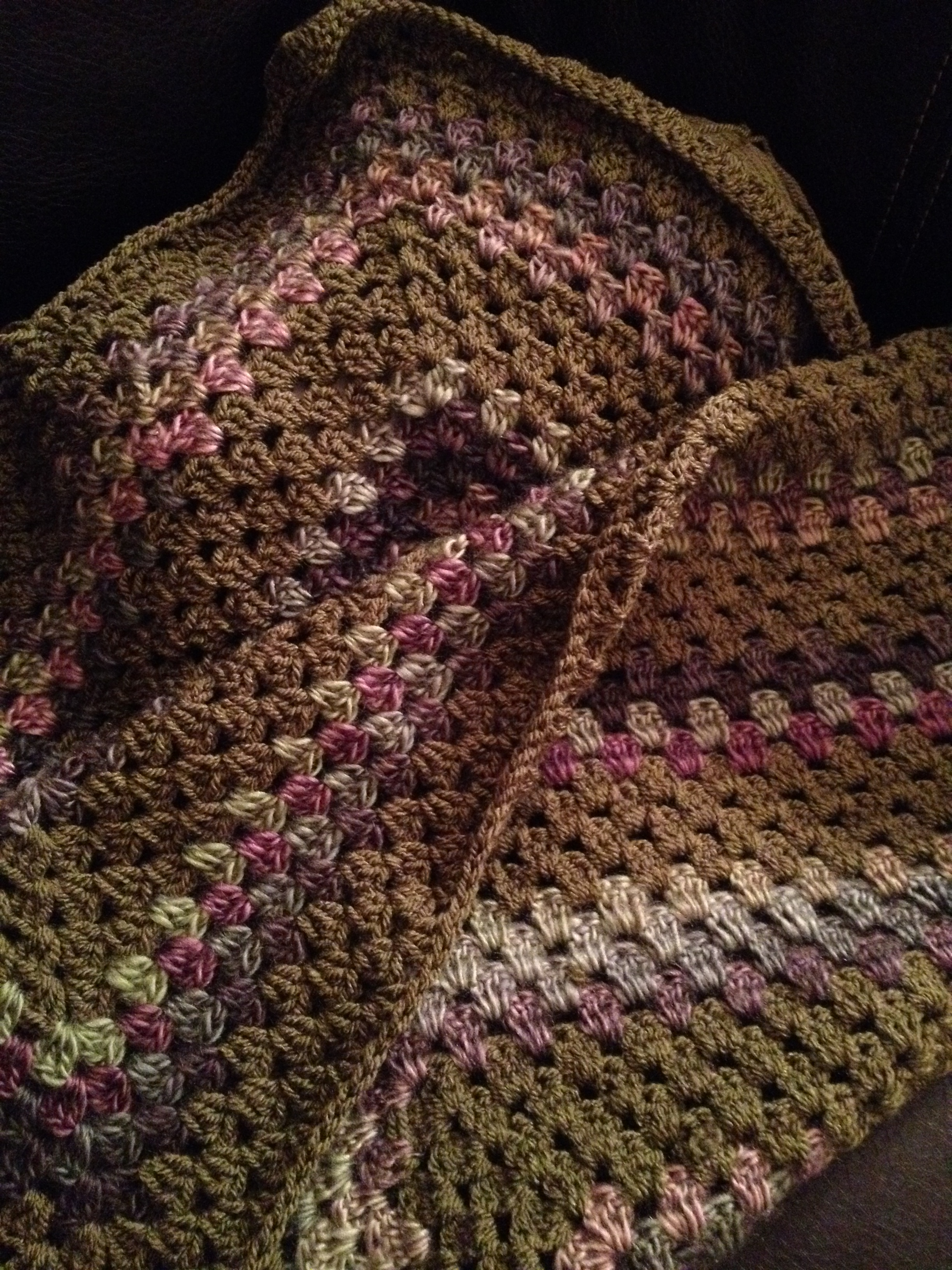 New Crochet throw