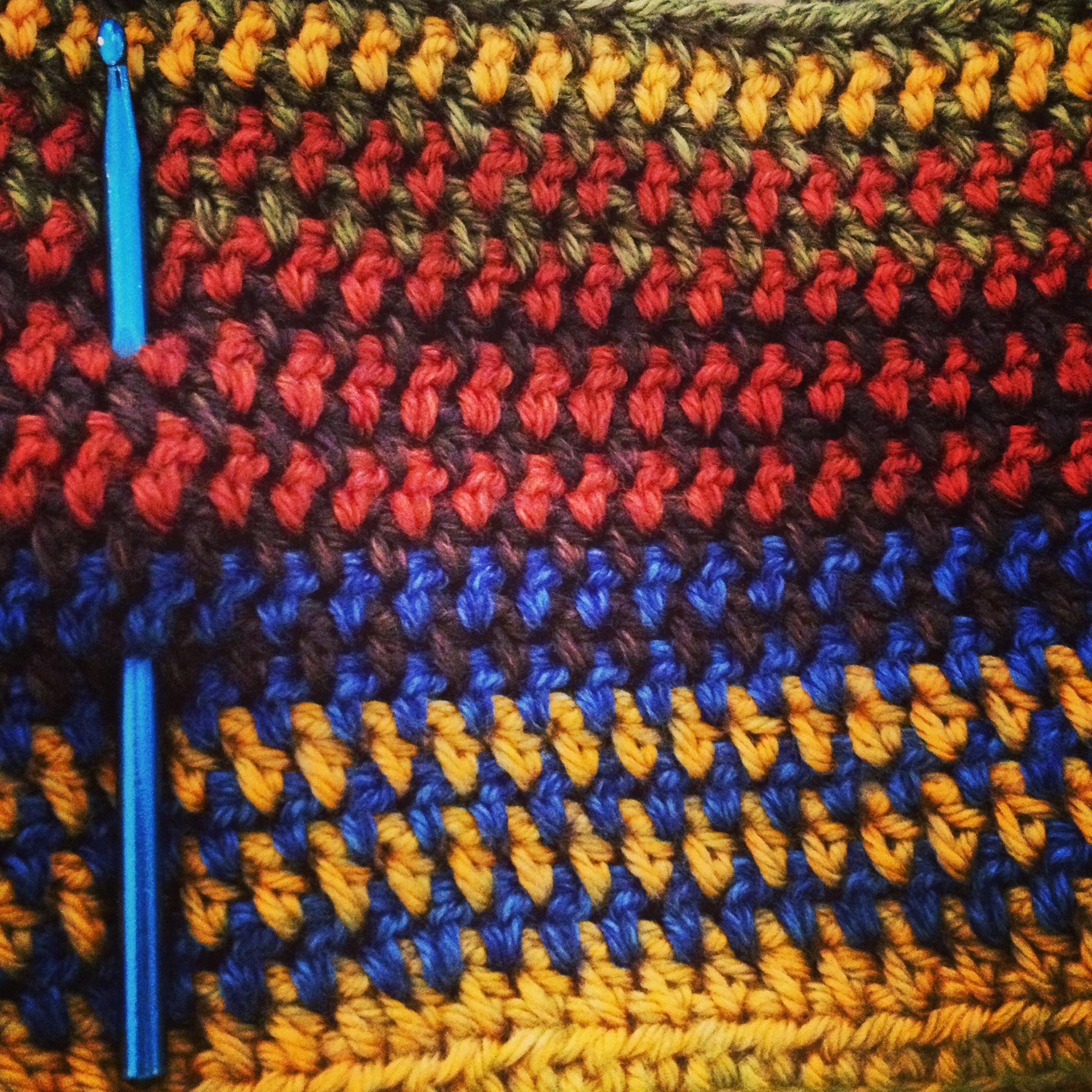 Crochet blanket beginnings!