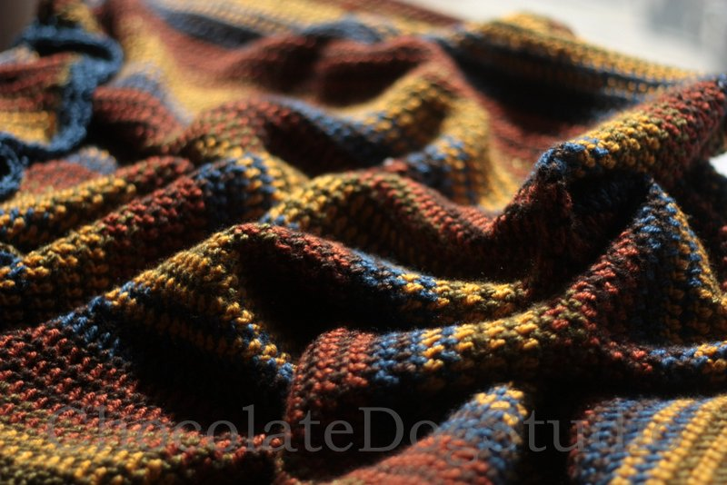 Autumn Blanket Pattern