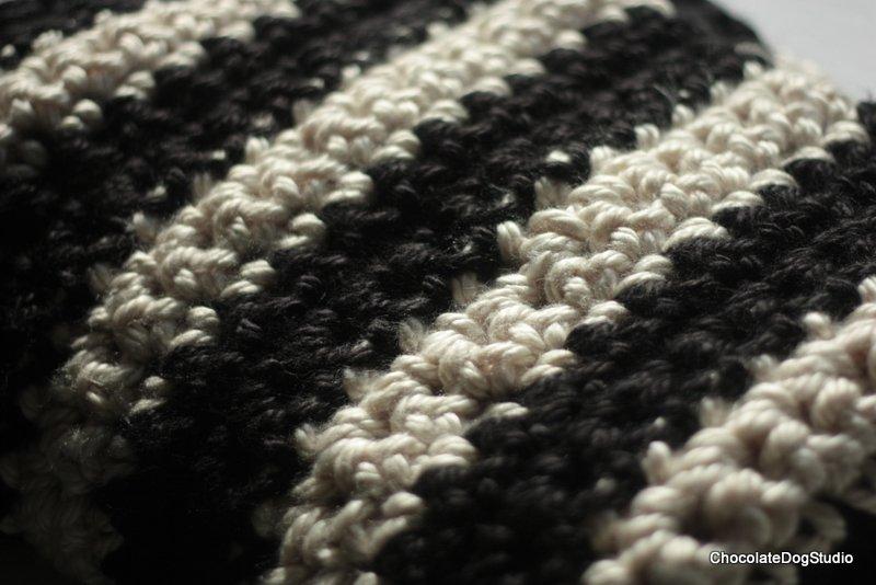 giant crochet blanket
