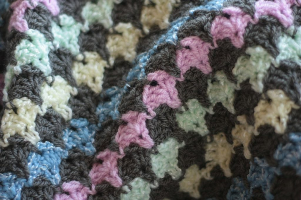 2 Crochet Baby Blankets