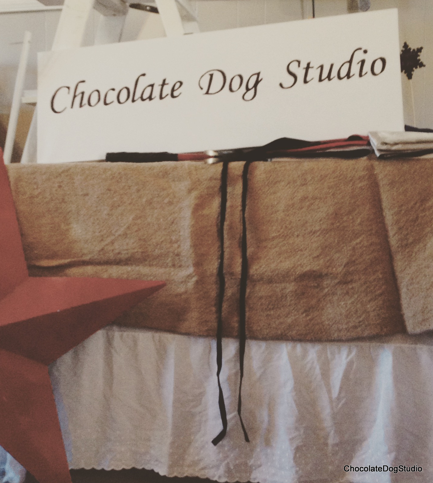 Today is all about Table Covers & craft show table cover Archives - Chocolate Dog Studio
