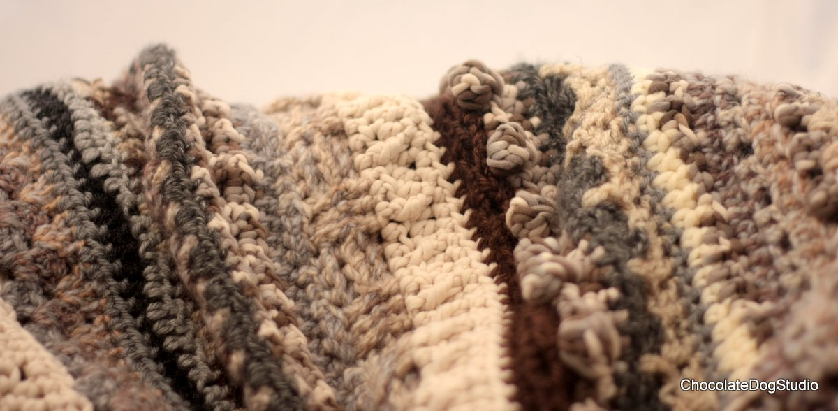 neutral afghan for autumn