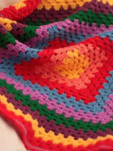 Rainbow Baby Blanket 6