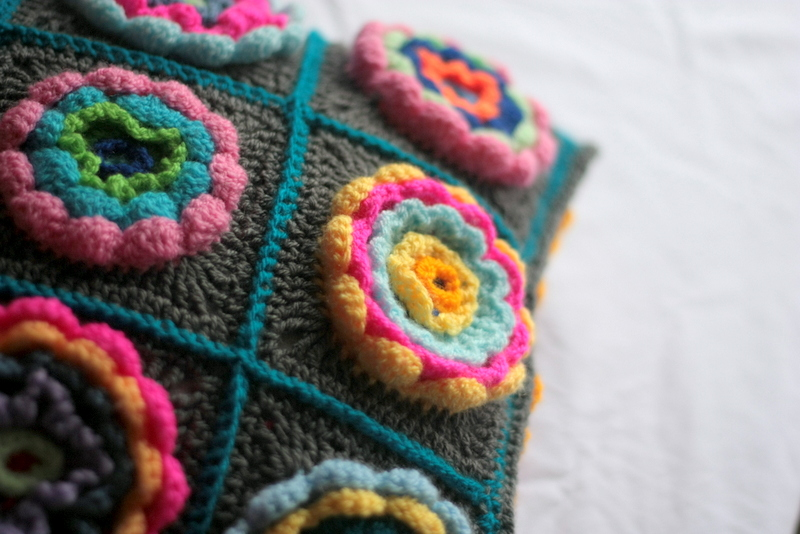 Add surface crochet to create texture.