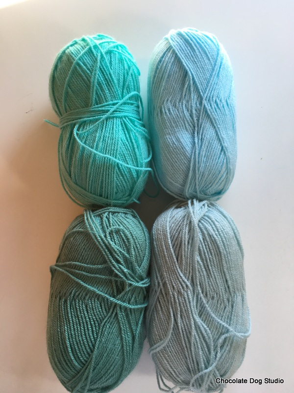 color theory in yarn