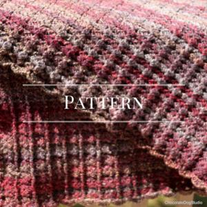 scalloped crochet afghan
