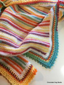Beachy Baby Blanket 5