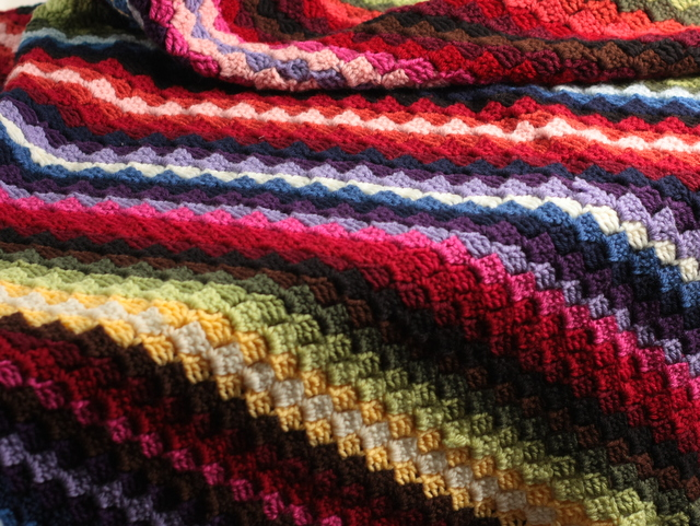 scrap afghan colors