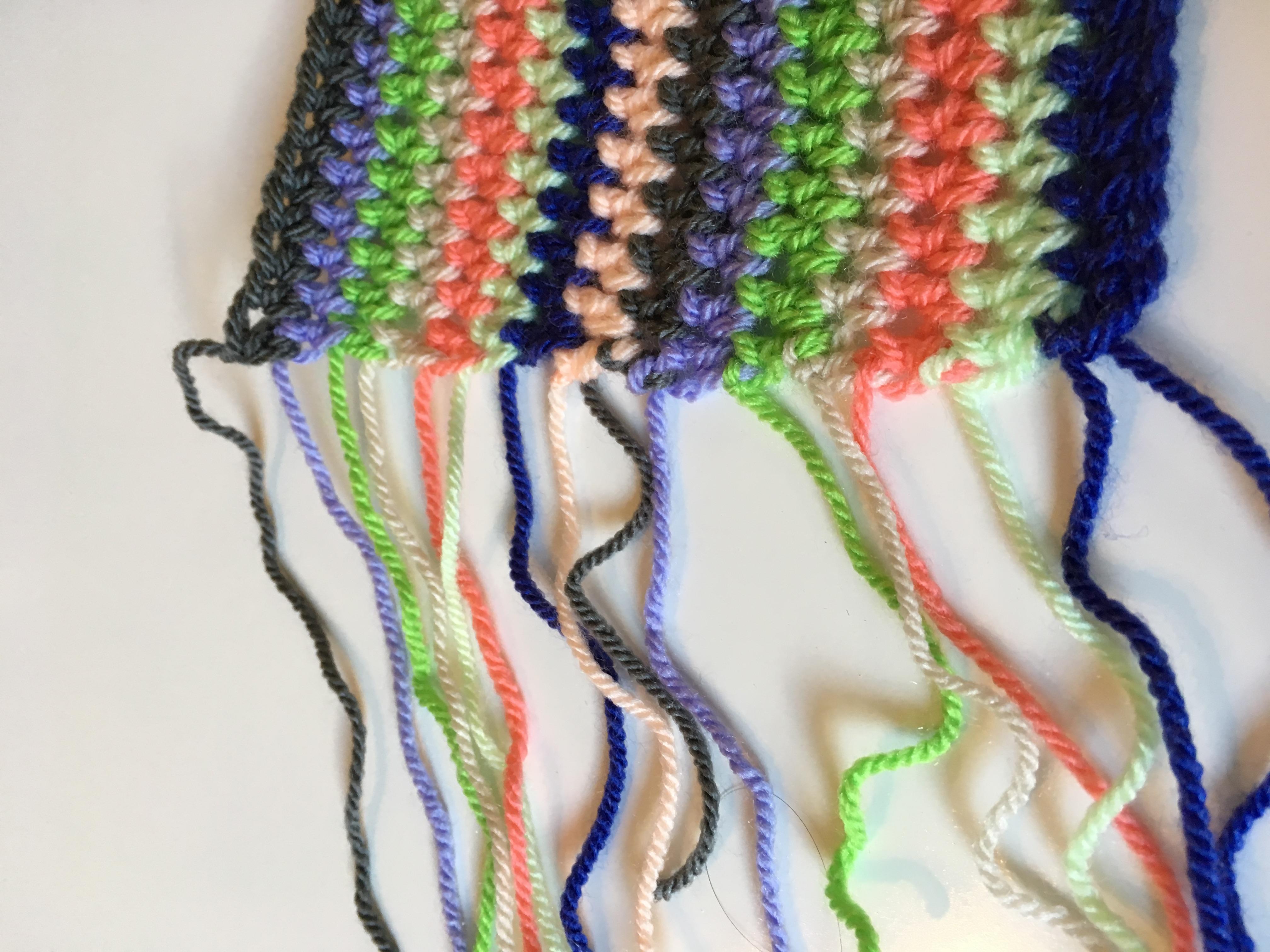 3 Super Easy Crochet Borders: The Rolled Edge or Fold Over Border ...