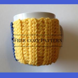Free Mug cozy Pattern