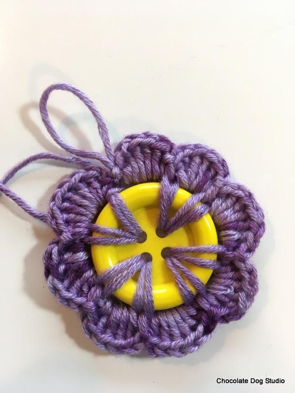 Button Flowers Free Pattern