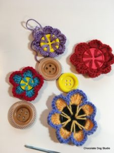 Button Flowers Free Pattern