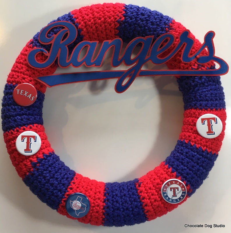 Crochet Team Wreath