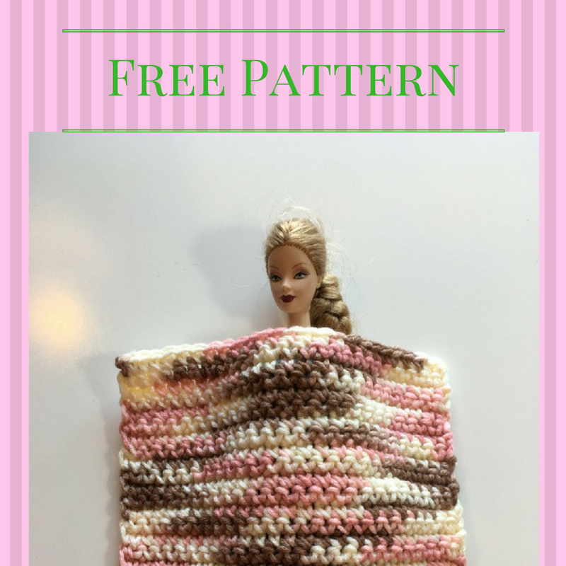 Fashion Doll Blanket Free Pattern Chocolate Dog Studio