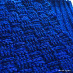 Basket Weave Stitch Square Free pattern
