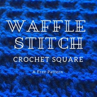 Waffle Stitch Square Pattern